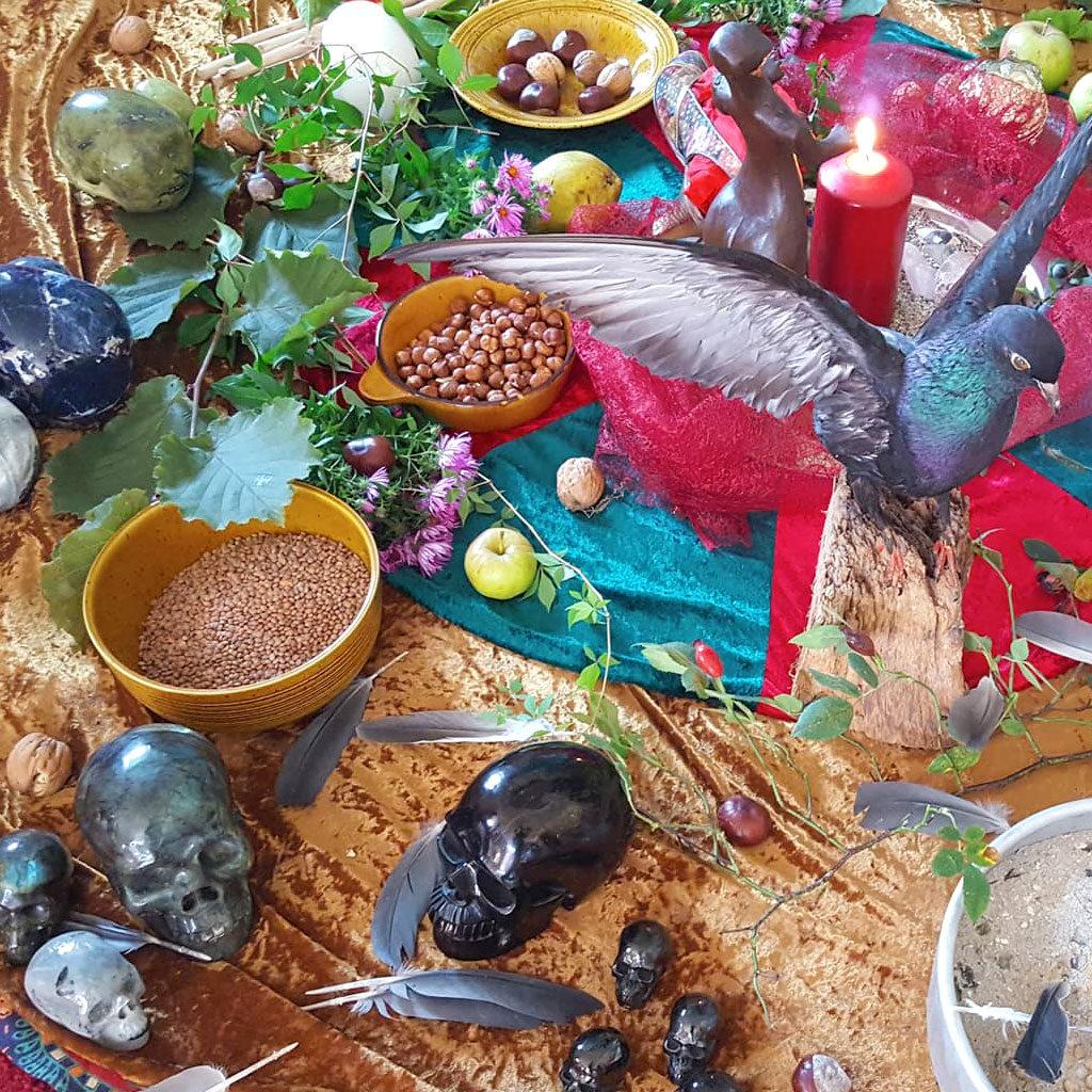 Jahreskreisfest Ritual Zeremonie Bild